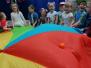 Dzień Dziecka - zabawy z chustą (Koryznowej, 2021)