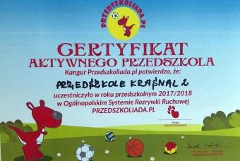 2018-certyfikat_przedszkoliada