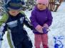 """Zabawy na śniegu - gr. """"Słoneczka"""" (Koryznowej, 2021)"""
