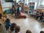 Zajęcia z edukacji kynologicznej w gr. Żabki i Wiewiórki  (Owocowa, 2021)