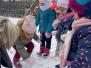 """Zbudujemy dziś bałwana... Zabawy na śniegu - gr. """"Słoneczka"""" (Koryznowej, 2021)"""