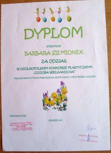 Dyplom - Basia