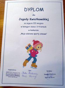 Dyplom - Jagoda