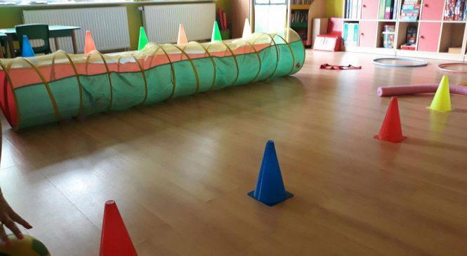 Sport to zdrowie – Wesołe zabawy na torze przeszkód
