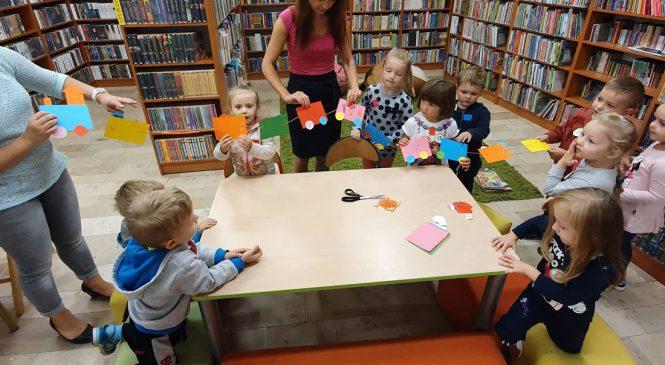 Wizyta w bibliotece gr. Wiewiórki