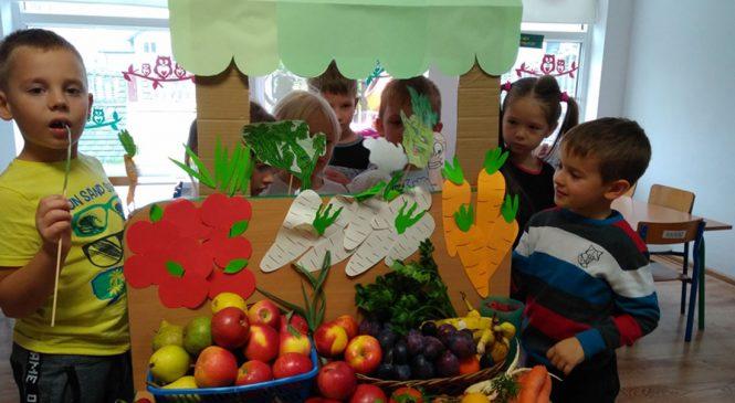 Warzywno – owocowy pierwszy dzień jesieni – grupa Tygryski