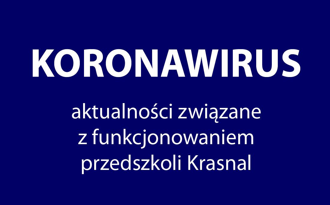 informacje koronawirus