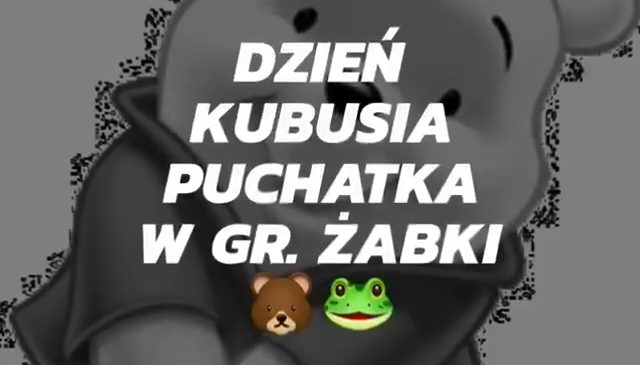 Dzień Kubusia Puchatka w gr. Żabki 🐻🐸🍯