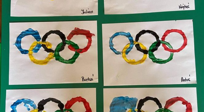 Kolory flagi olimpijskiej 🏅🏆🎨